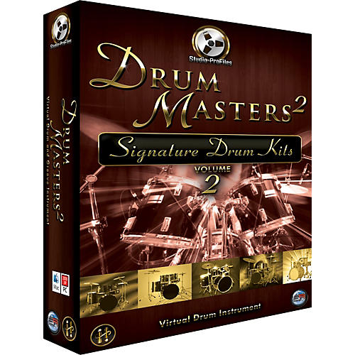 Sonic Reality Drum Masters 2: Signature Kits Volume 2