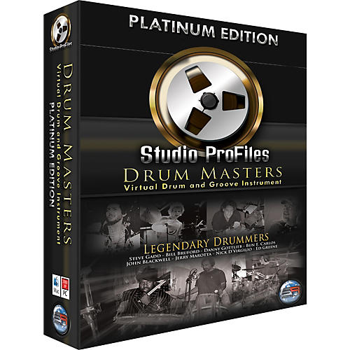 Sonic Reality Drum Masters Platinum Edition Software