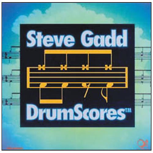 Q Up Arts Drum Scores by Steve Gadd CD Audio