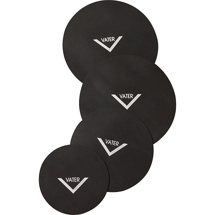 VaterDrum Set Mute Pad 4-Pack10, 12, 14, 14