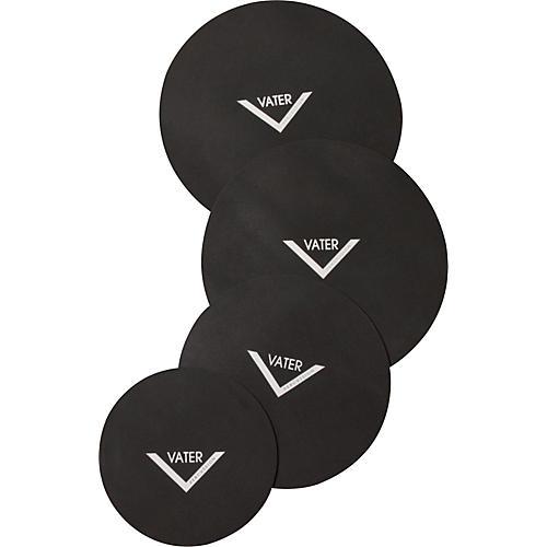 Vater Drum Set Mute Pad 4-Pack 12, 13, 16, 14