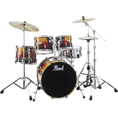 Pearl Drum Set with Hardware