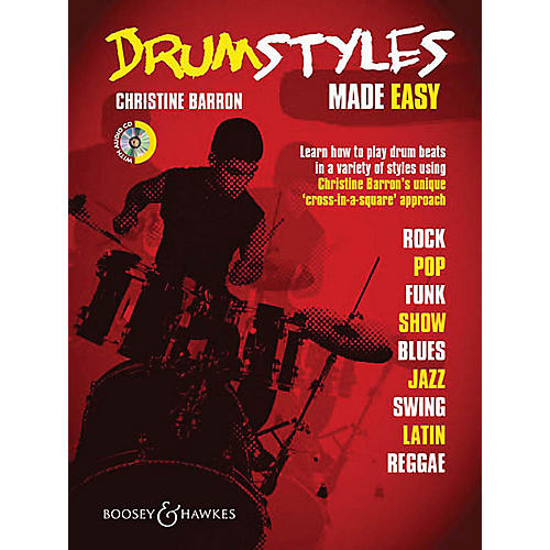 Boosey and Hawkes Drum Styles Made Easy Concert Band Written by Christine Barron-thumbnail