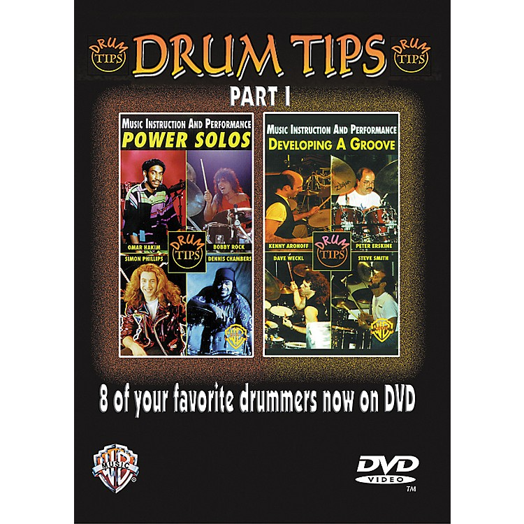 AlfredDrum Tips Part I - Power Solos/Developing a Groove DVD