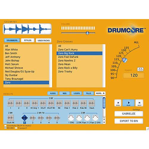 Submersible Music DrumCore Virtual Drum Machine