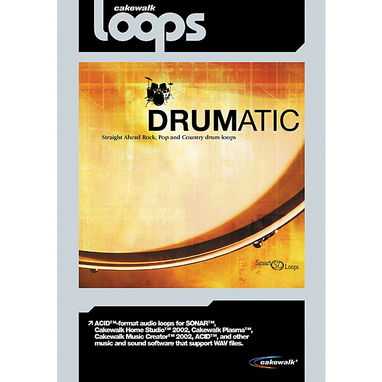 Cakewalk Drumatic Loop CD-ROM