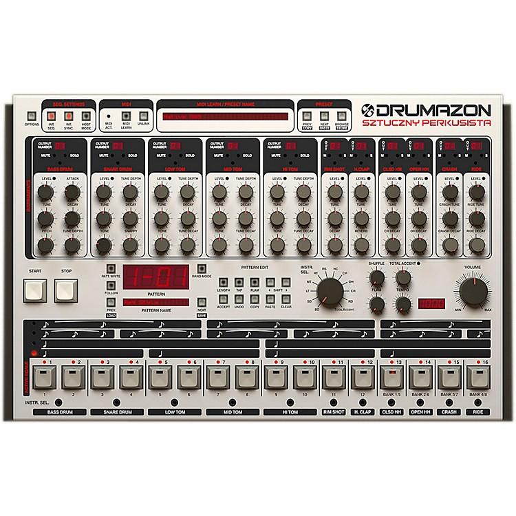 D16 GroupDrumazon TR909 Emulation (VST/AU) Drumazon TR909 emulation (VST/AU) Software Download