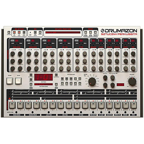 D16 Group Drumazon TR909 emulation (VST/AU)-thumbnail