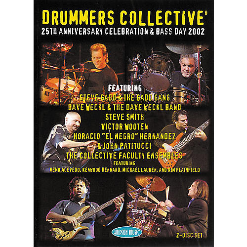 Hudson Music Drummers Collective 25th Anniversary Celebration and Bass Day DVD