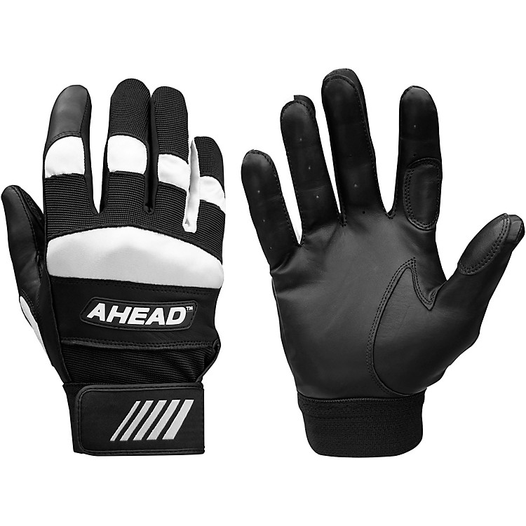 Ahead Drummer's Gloves with Wrist Support  Medium