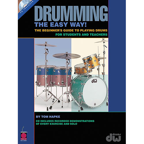 Cherry Lane Drumming the Easy Way - Beginners Guide to Playing Drums for Students and Teachers (Book/CD)-thumbnail