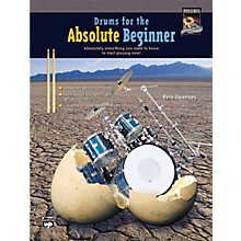 Alfred Drums for the Absolute Beginner (Book/CD)