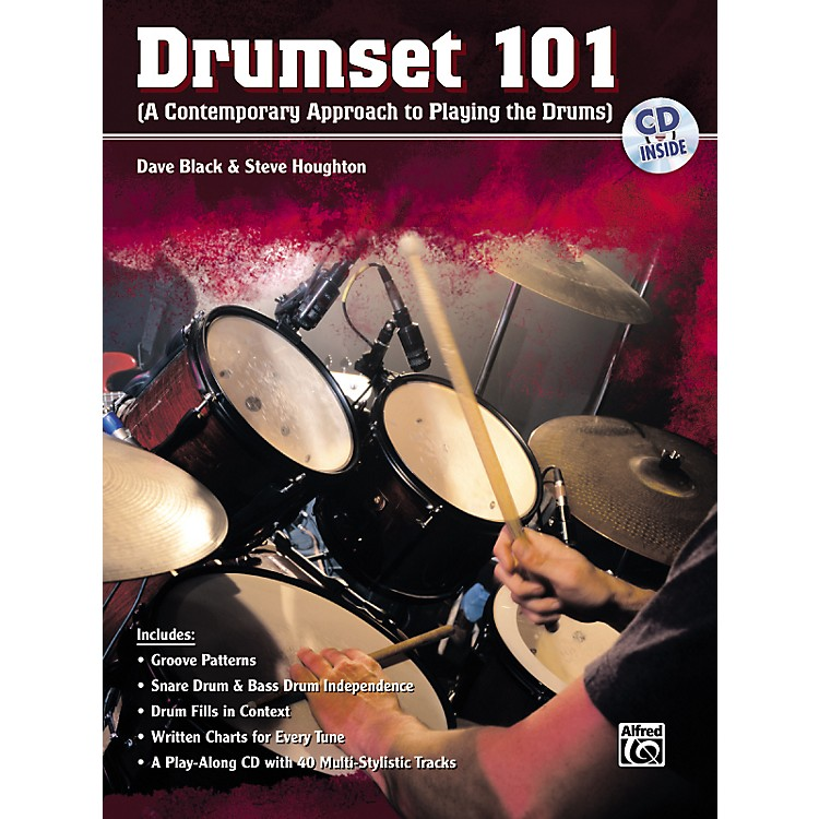 Alfred Drumset 101 Book and CD