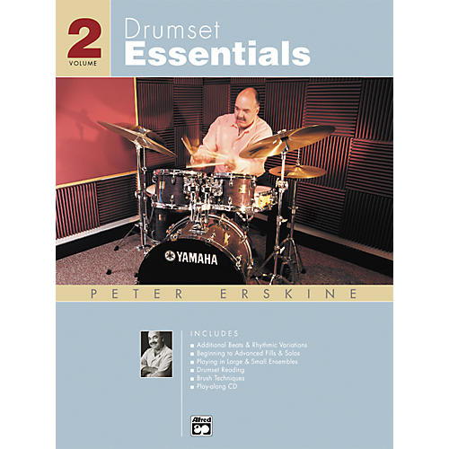Alfred Drumset Essentials Volume 2 (Book/CD)-thumbnail