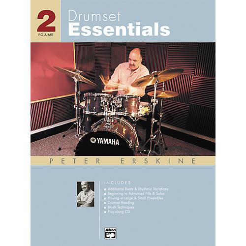 Alfred Drumset Essentials Volume 2 (Book/CD)