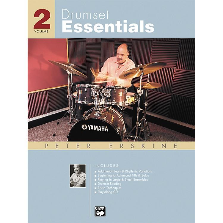 AlfredDrumset Essentials Volume 2 (Book/CD)