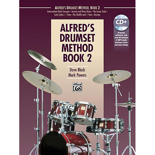 Alfred Drumset Method Book 2 & CD-thumbnail