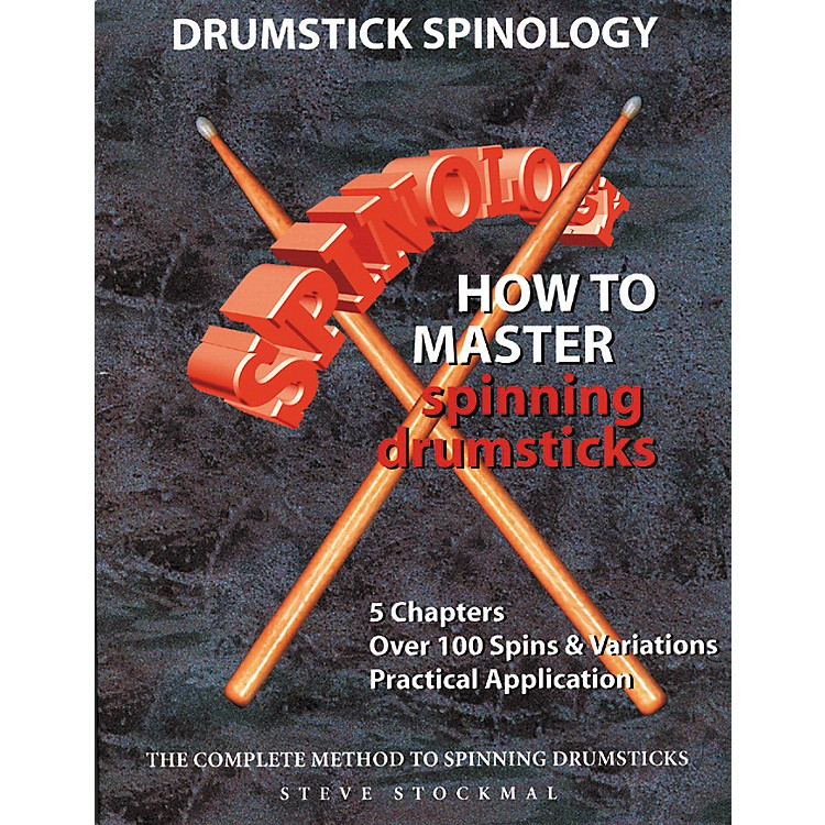 SMGDrumstick Spinology – How To Master Spinning Drumsticks (Book/DVD)