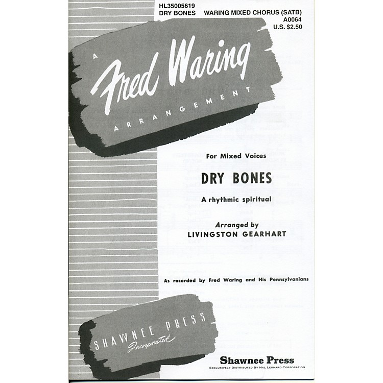 Hal LeonardDry Bones SATB