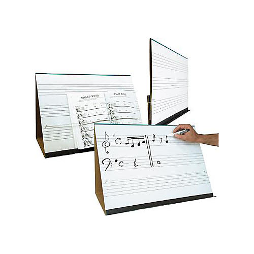 Prop-It Dry Erase Music Staff Easel
