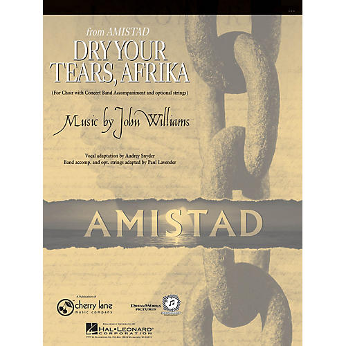 Cherry Lane Dry Your Tears, Afrika (from Amistad) Concert Band Level 4-5 Arranged by Paul Lavender-thumbnail