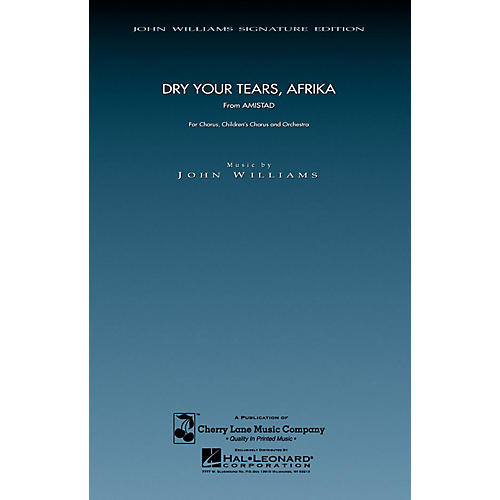 Cherry Lane Dry Your Tears, Afrika (from Amistad) (SATB and Children's Chorus) composed by John Williams-thumbnail