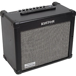 kustom dual 30rc 30w 1x10 2 channel guitar combo with chorus and reverb musician 39 s friend. Black Bedroom Furniture Sets. Home Design Ideas