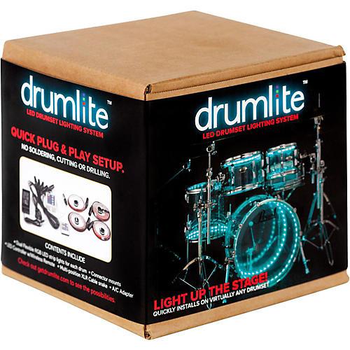 DrumLite Dual-Band LED Drumset Lighting Kit
