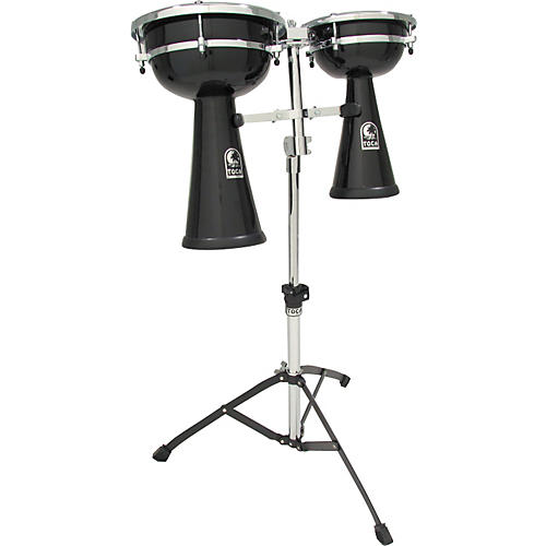 Toca Dual Doumbek Set with Stand