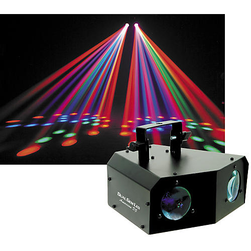 American DJ Dual Gem LED Dual Moonflower Lighting Effect-thumbnail