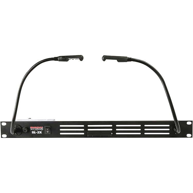 Nady Dual Gooseneck LED Rack Light  Black