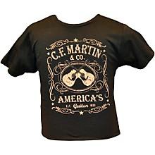 Martin Dual Guitars Vintage T-Shirt Black 2XLarge