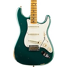 Fender Custom Shop Dual Mag Relic Stratocaster - Custom Built - Namm Limited Edition Faded Sherwood Green Metallic