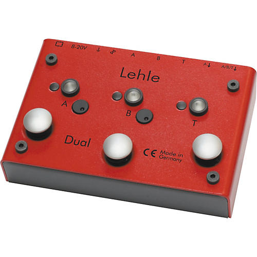 Lehle Dual SGoS Amp Switcher Guitar Pedal