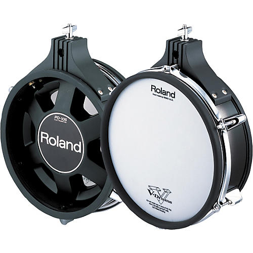 Roland Dual-Trigger Mesh V-Pad Black 10 in.