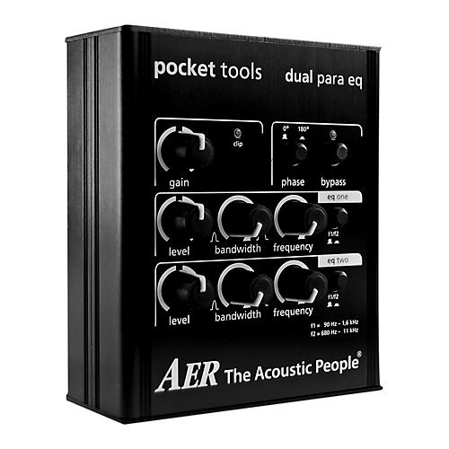 AER Dual-band Parametric EQ with Switchable Frequency Ranges EQ Pedal-thumbnail