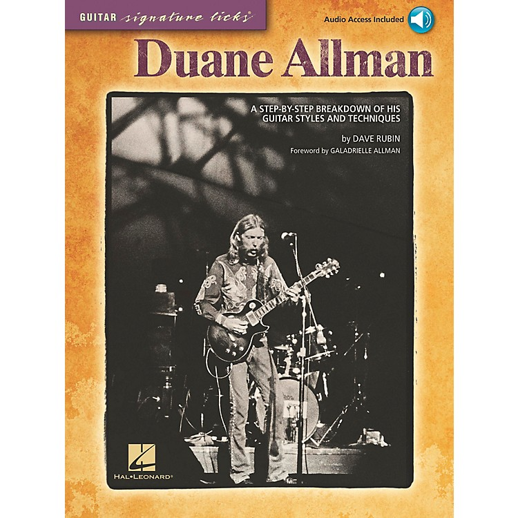 Hal Leonard Duane Allman - Guitar Signature Licks Book/CD