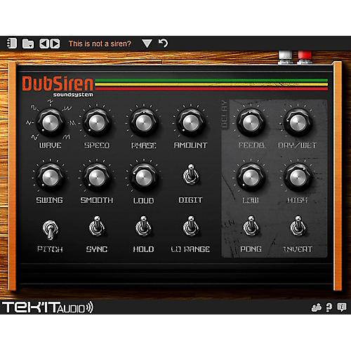 Tek'it Audio DubSiren Virtual Synthesizer Plig-in Software Download