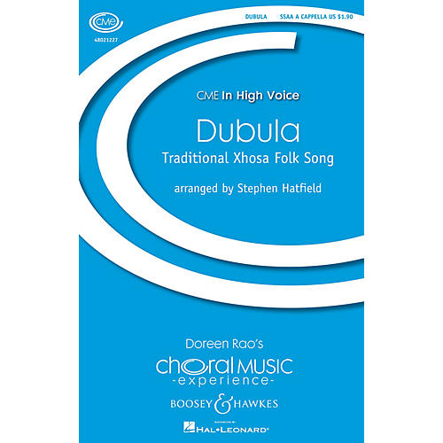 Boosey and Hawkes Dubula (CME In High Voice) SSAA A Cappella arranged by Stephen Hatfield-thumbnail