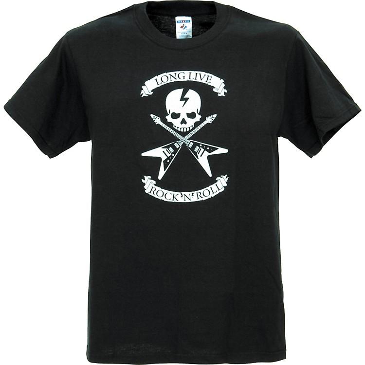 Full On ClothingDueling V Guitars T-ShirtSmallBlack