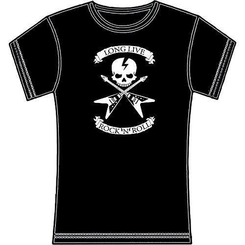 Full On Clothing Dueling V Guitars Women's T-Shirt