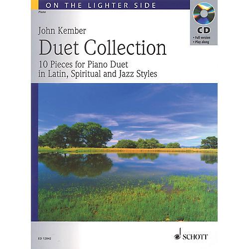 Schott Duet Collection (10 Pieces for Piano Duet in Latin, Spiritual and Jazz Styles) Schott Series-thumbnail