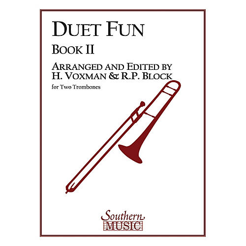 Southern Duet Fun, Book 2 (2 Trombones) Southern Music Series Arranged by Himie Voxman-thumbnail