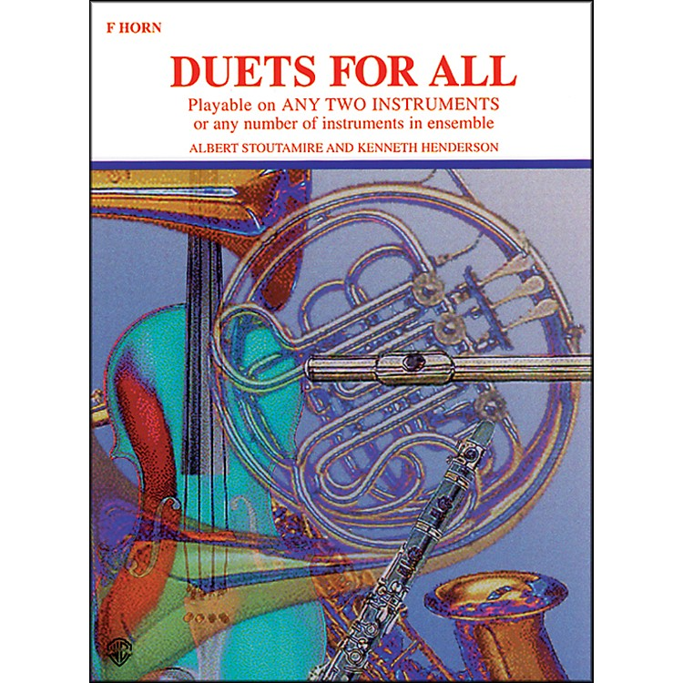 Alfred Duets for All Horn in F