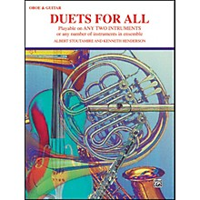 Alfred Duets for All Oboe Guitar