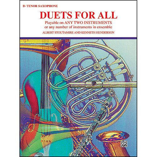 Alfred Duets for All Tenor Saxophone