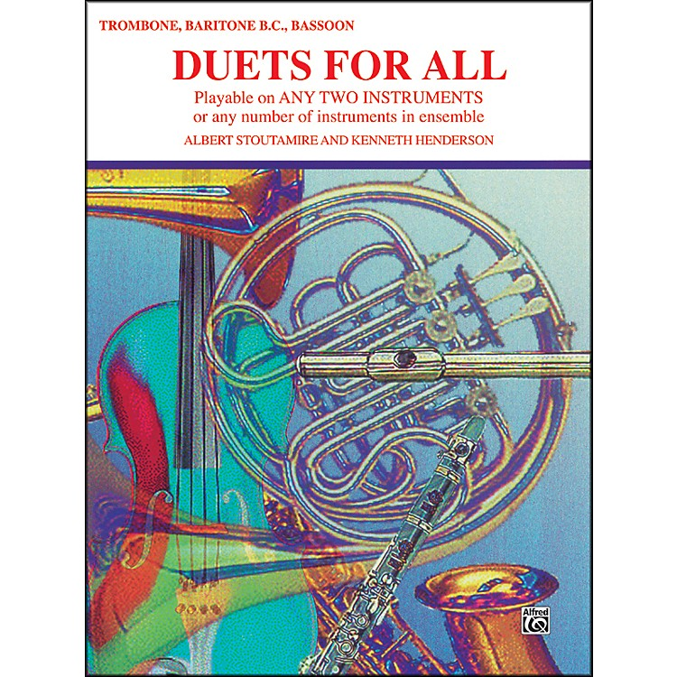 AlfredDuets for All Trombone Baritone B.C. Bassoon