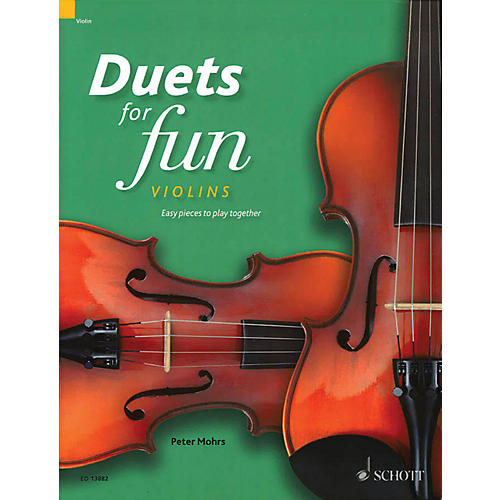 Schott Duets for Fun: Violins String Ensemble Series Softcover Composed by Various-thumbnail