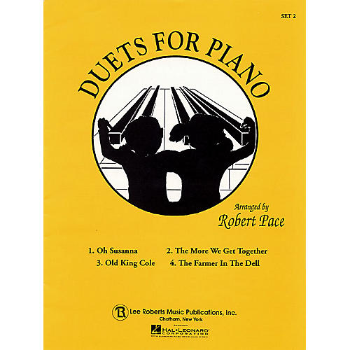 Lee Roberts Duets for Piano - Set 2 Pace Duet Piano Education Series-thumbnail