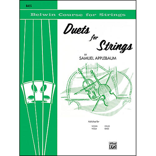 Alfred Duets for Strings Book I Bass-thumbnail